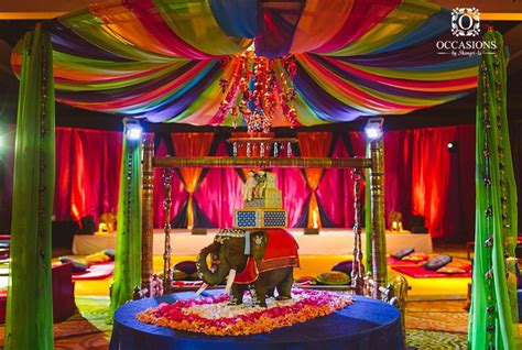 sangeet garba amp mehndi decor occasions by shangri la