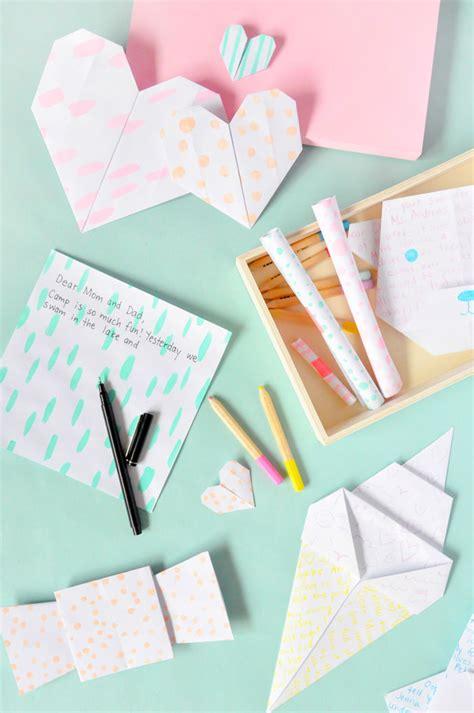 mail origami origami mail kit handmade