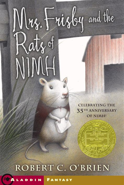 mrs frisby and the rats of nimh book by robert c o