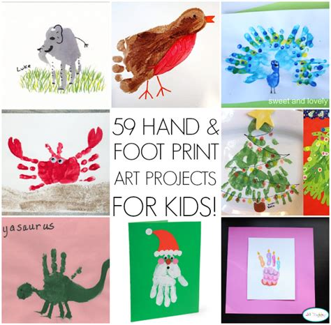print crafts handprint ideas