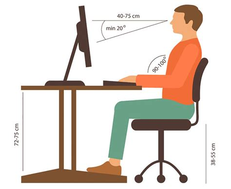 normal desk height office chair considerations for and