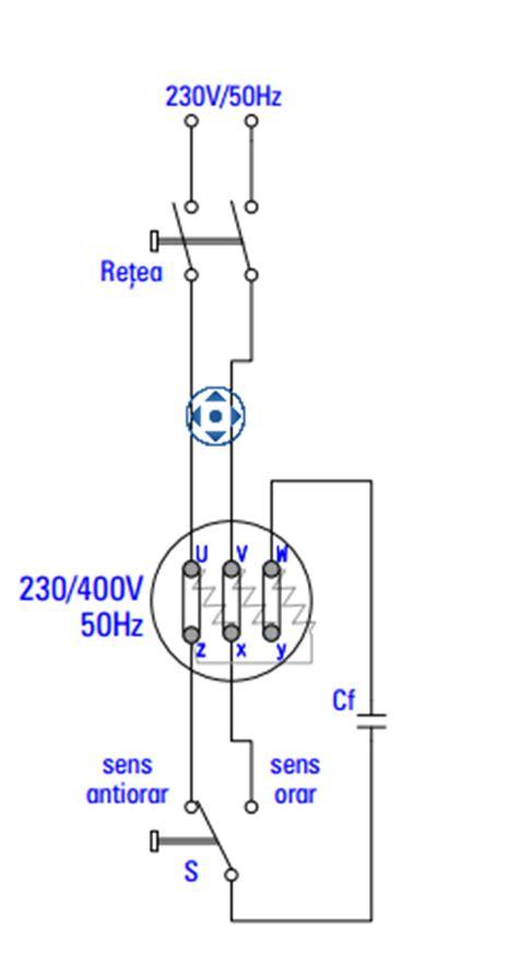 Motor Electric Monofazat Legaturi by Blogul Lui Ion Frunze Pornirea Motoarelor Trifazate La