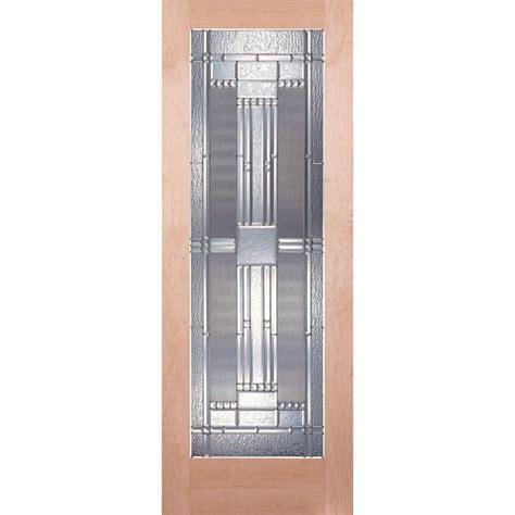 24 x 80 interior door feather river doors 24 in x 80 in 1 lite unfinished