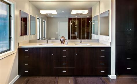 bathroom vanities with mirrors and lights how to a modern bathroom mirror with lights
