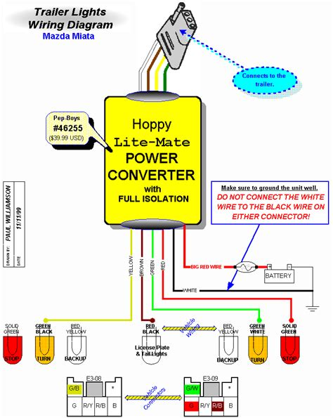 how to power lights with a battery wiring for trailer lights