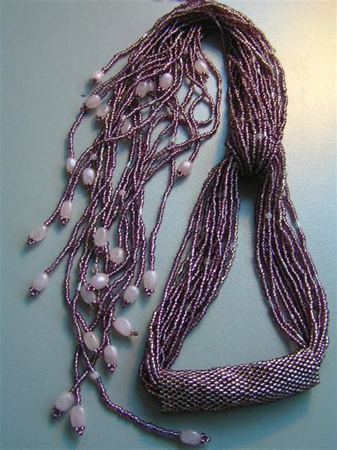 beaded scarfs seed scarf necklace scarf necklace bead necklaces