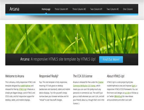 free dreamweaver business website templates css menumaker