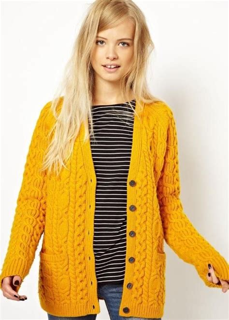 yellow knit cardigan 25 best ideas about mustard yellow cardigan on