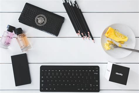 office desk images top view of desk with copy space 183 free stock photo