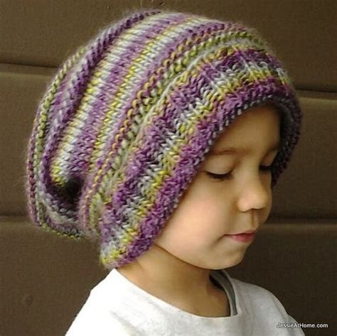 knitting patterns for slouchy hats free emily s slouchy hat free knit pattern at home