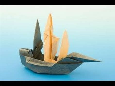 how to make a origami pirate ship how to make an origami ship