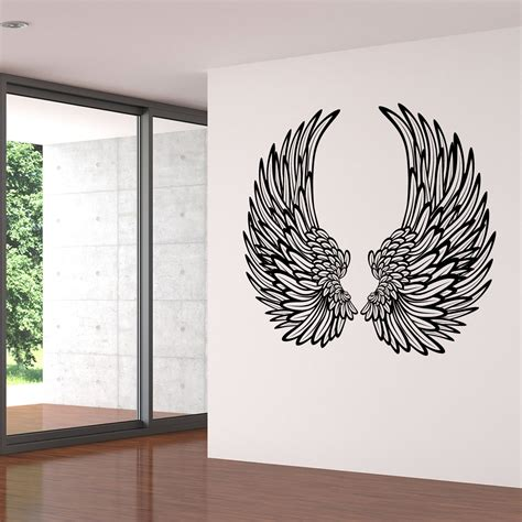 decorative stickers for wall decorative wings wall sticker world of wall stickers