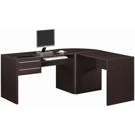 black l shaped computer desk black l shape desk to accomodate a space my office ideas