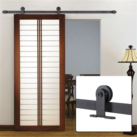 single barn door get cheap sliding barn door rollers aliexpress