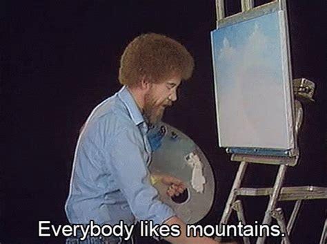 bob ross painting gif popular bob ross gif bob ross painting discover