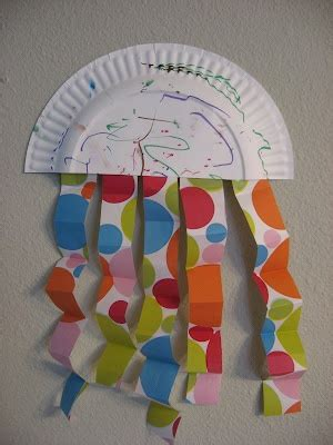 sting paper crafts 17 best ideas about paper plate jellyfish on