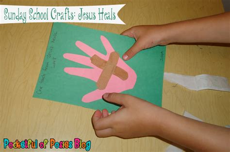 jesus crafts for sunday school crafts jesus heals