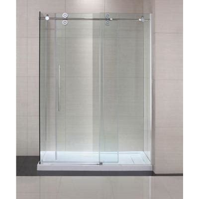shower doors home depot schon lindsay 60 in x 79 in semi framed shower enclosure