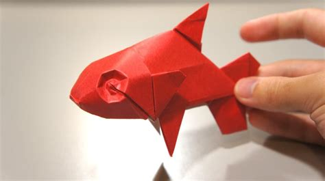 how to make origami fish origami fish davor vinko