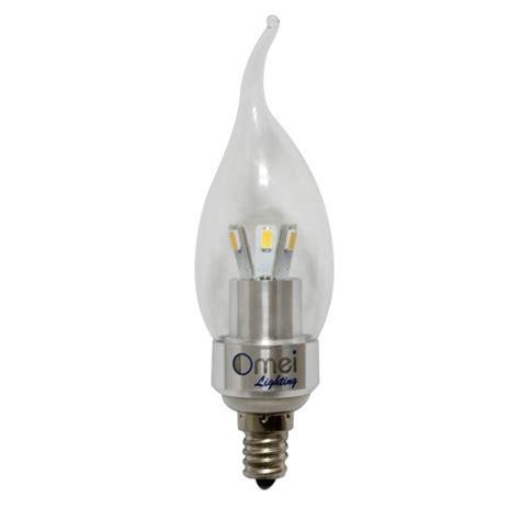 led light bulbs candelabra base 60w dimmable e12 4w led chandelier candelabra 350 lumens 4