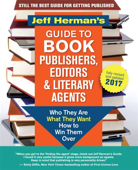 literary agents for picture books jeff herman s guide to book publishers editors and