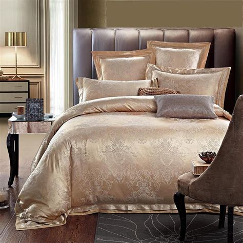 jacquard bedding set luxury jacquard silk cotton bedding set king size