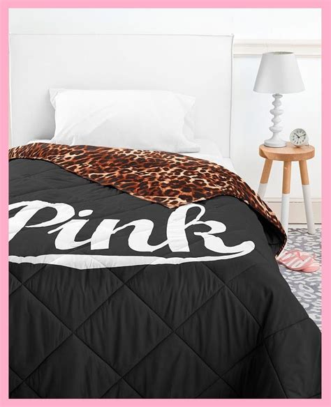secret pink comforter sets secret pink bed in a bag black leopard comforter