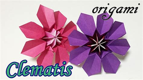 cool origami flower cool origami flowers tutorial how to make a paper