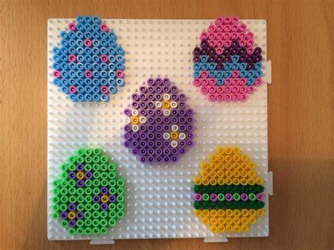 easter hama bead patterns easter eggs hama perler hama perler