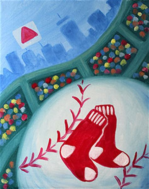 paint nite gingerbread boston sox tickets paint nite redsox tickets