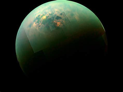 on titan nasa s cassini spacecraft examines methane sea on saturn s