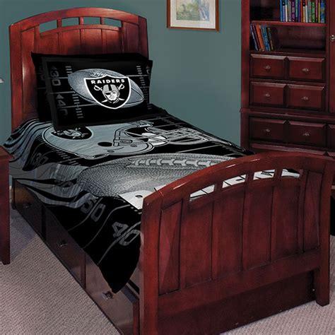 raiders comforter set oakland raiders nfl comforter set 63 quot x 86 quot