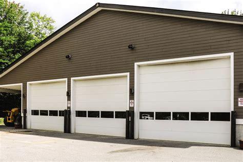 overhead sectional door sectional steel commercial door model 416