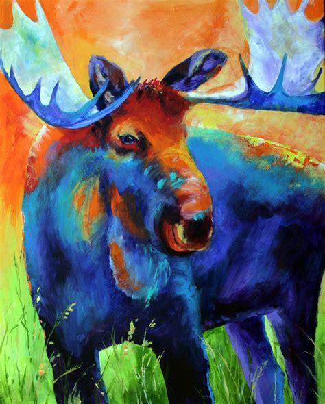 acrylic painting artist mcdonald cheyenne s intown tour