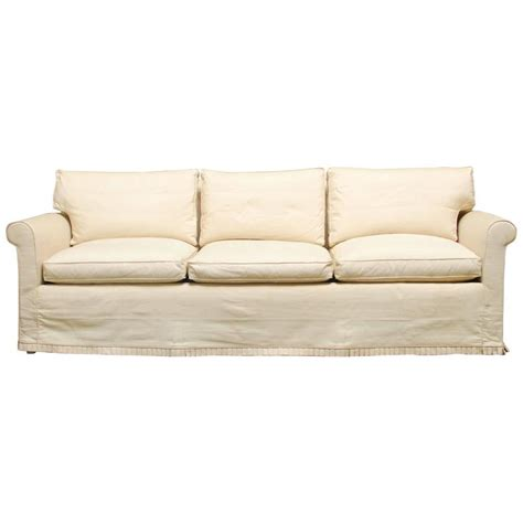modern slipcover sofa at 1stdibs