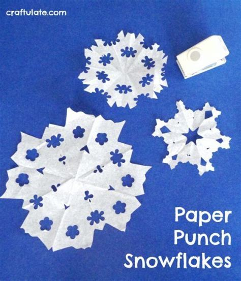 pre punched paper for crafts 711 best images about winter theme on