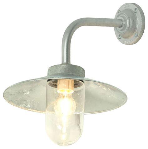outdoor industrial lighting fixtures davey lighting exterior bracket light galvanized iron