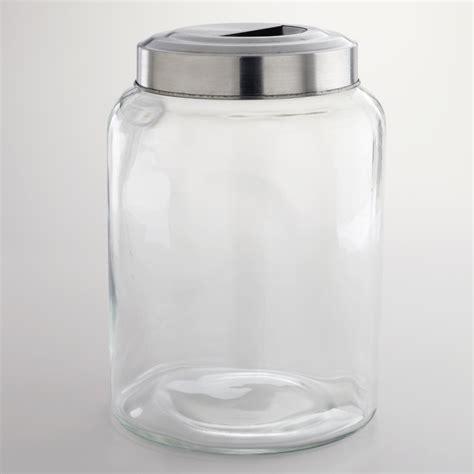 large glass large glass kitchen jar world market