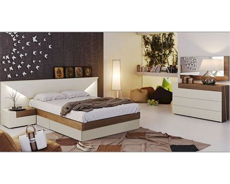 tone bedroom two tone modern bedroom set 33131el
