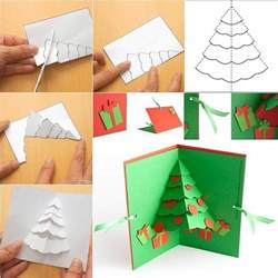 up cards diy tree pop up greeting card