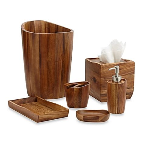 bathroom and kitchen accessories acacia vanity bathroom accessories bed bath beyond