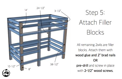 simple bunk bed plans simple bunk bed plans free plans build bunk bed