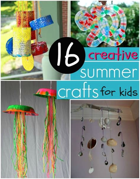 easy summer crafts for to make creative easy summer crafts for