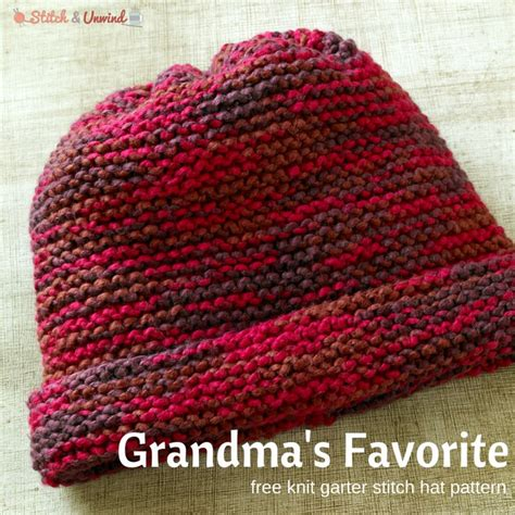 easy knit hat patterns 10 best ideas about easy knitting patterns on