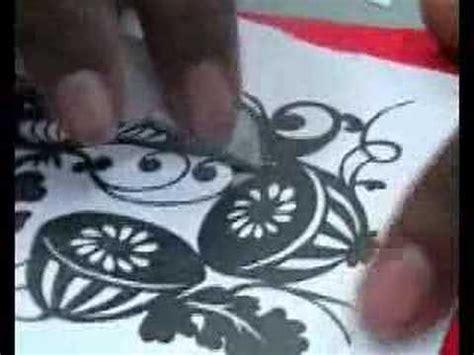 paper cutting craft tutorial paper cut tutorial