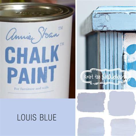 chalk paint louis blue chalk paint 174 decorative paint by sloan knot
