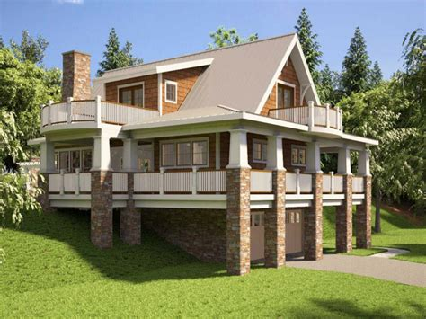 story house floor with basement and house the hillside house plans with walkout basement hillside house