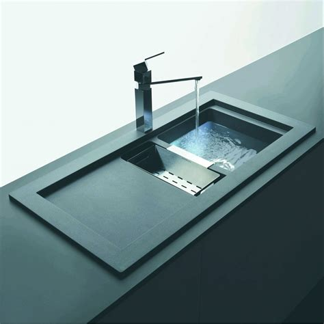 inset kitchen sinks schock domus 1 5 bowl and drainer 1060mm x 525mm