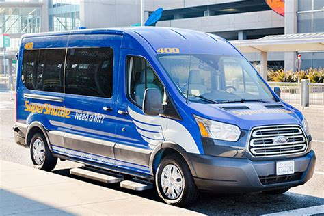 Airport Shuttle by How It Works Supershuttle