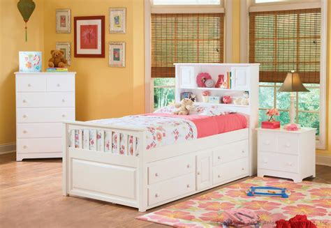 white captains bed bookcase captains bed white